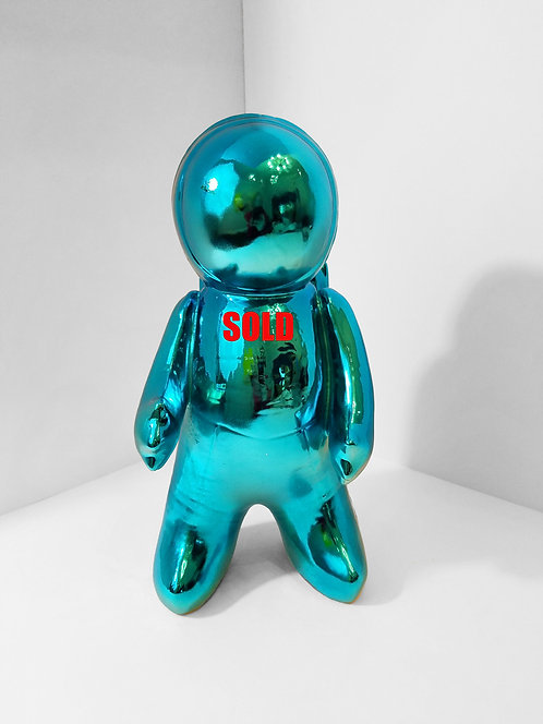 Space Man Blue