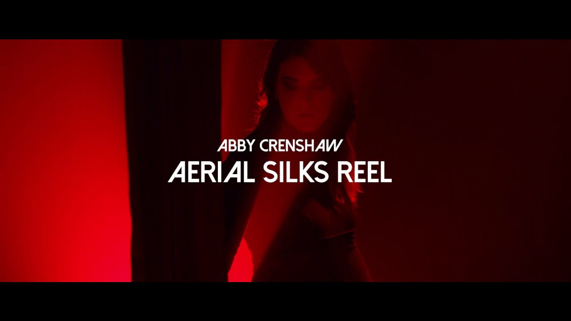 Aerial Silk Demo Reel 2019.