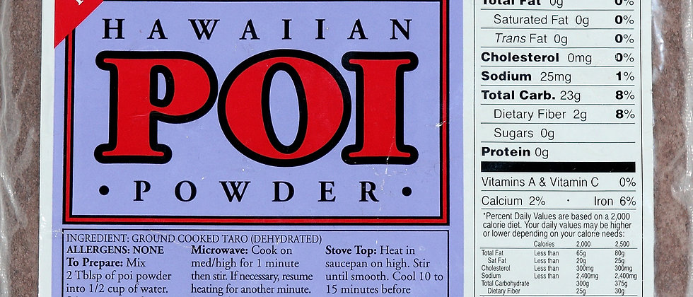 Hawaiian Poi Powder - 16oz.