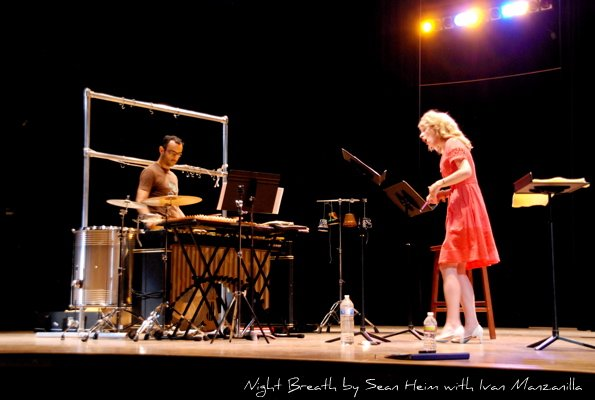 Stacey Fraser and Ivan Manzanilla, percussion- Night Breath by Sean Heim AYMC Concert 2011