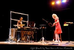 Stacey Fraser and Ivan Manzanilla, percussion- Night Breath by Sean Heim AYMC Concert 2011