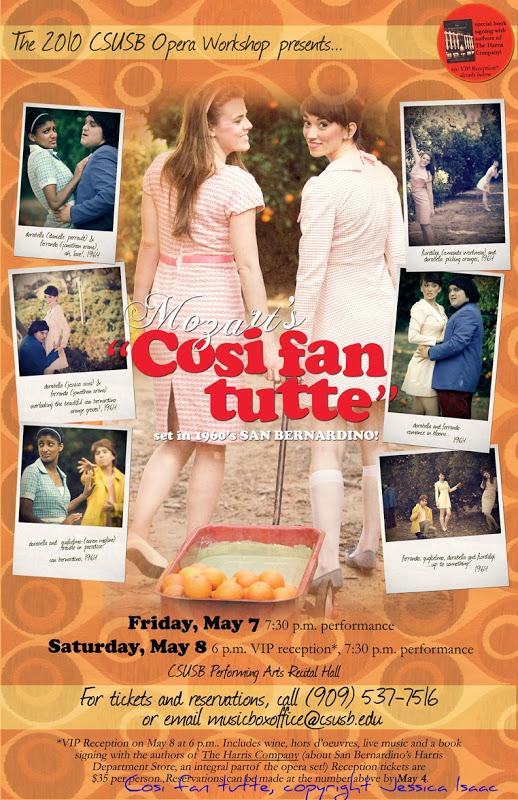 Cosi fan Tutte poster