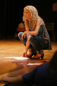 Stacey Fraser, Director In Rehearsal