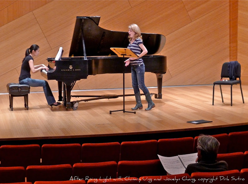 Coaching with Chinary Ung, After Rising Light, Conrad Presbys Recital Hall, La Jolla, CA