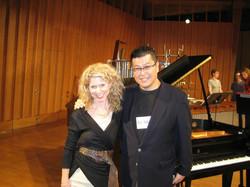 Stacey and Koji NIU