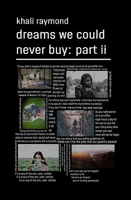 Dreams We Could Never Buy: Part II