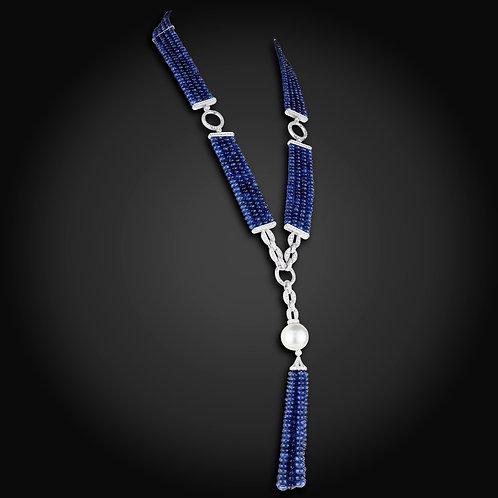藍寶石套鍊