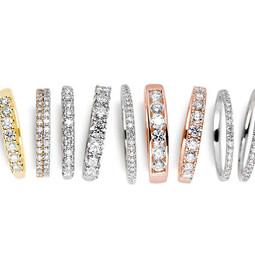婚戒、珠寶貴金屬材質比較