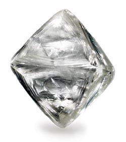 未打磨的鑽石原礦
