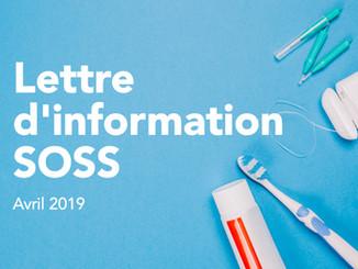 Retrouvez la lettre d'information de SOSS !