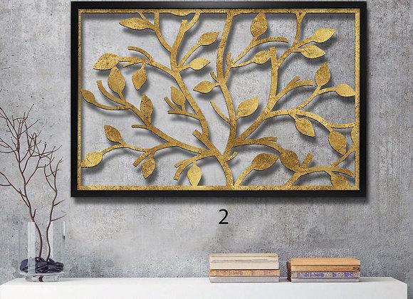 עץ עלים זהב