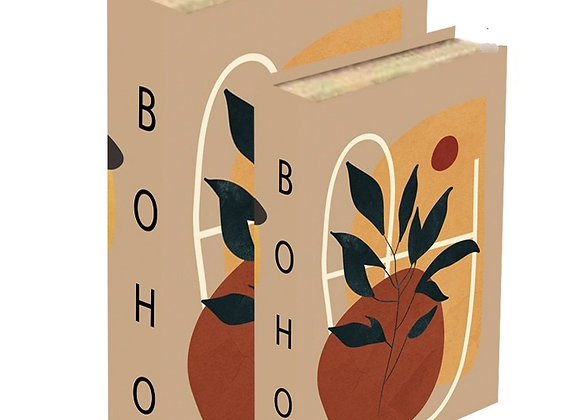 BOHO ספר קופסא