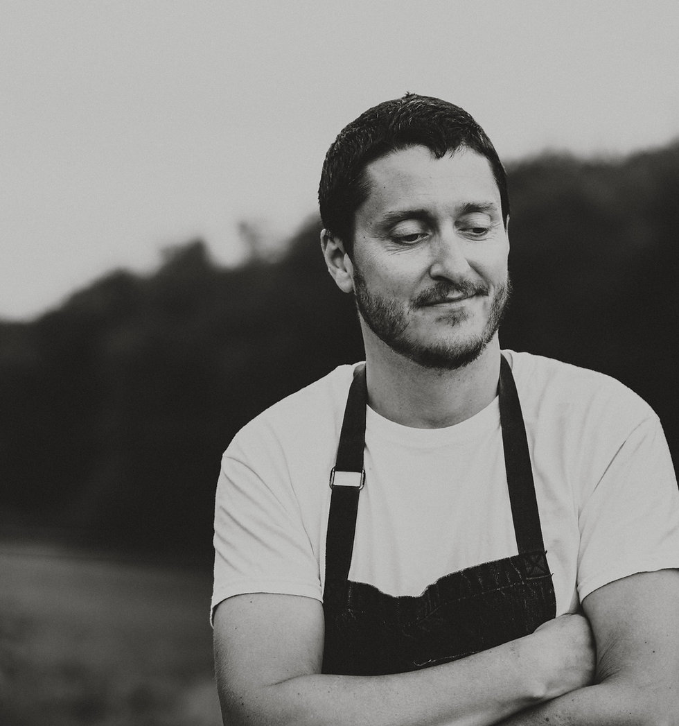Jonathan Hudak, chef at the best restaurant in wolfeboro NH, PAVILION wolfeboro restaurant creates fine dining, food to go, and wine