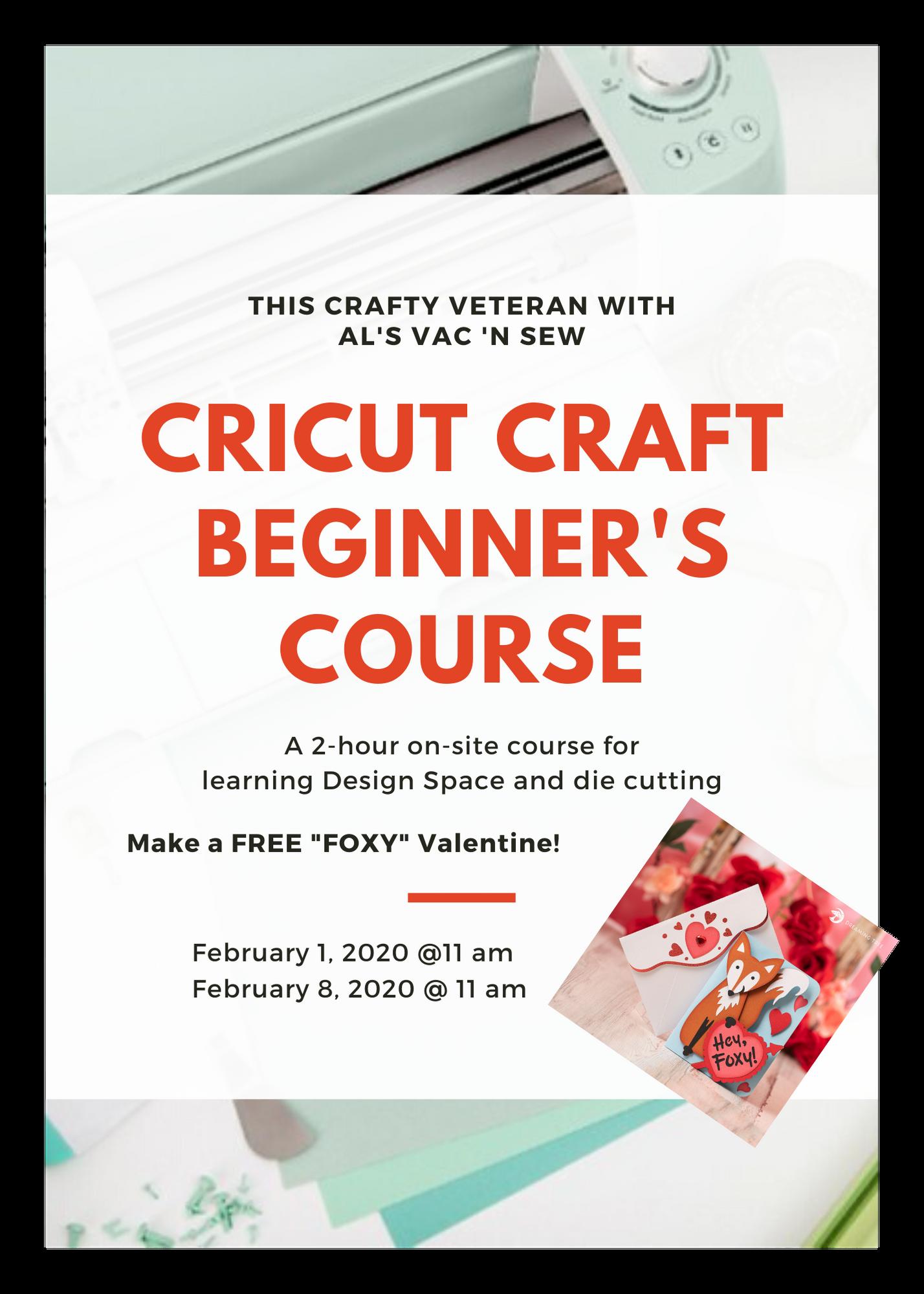 Cricut Beginner's Design Course