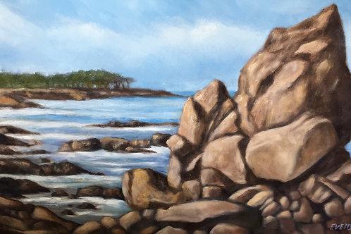 Monterey Bay Outcrop
