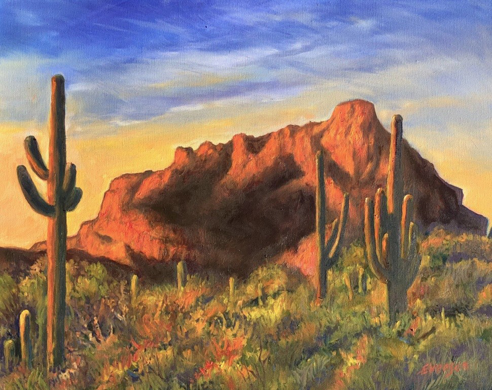 Red Mountain Sunrise