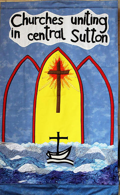 Churches Uniting in Central Sutton banner