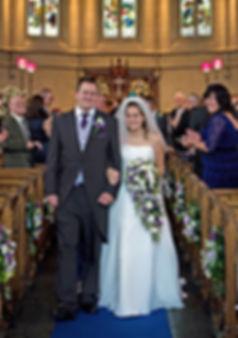 A wedding at Trinity