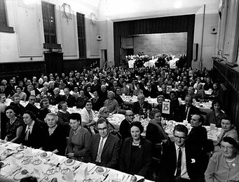 Stewardship Dinner 12 Nov 1963 in Sutton Public Hall