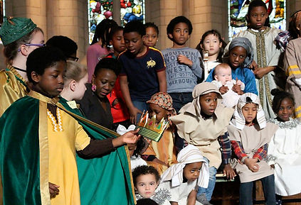Nativity presentation