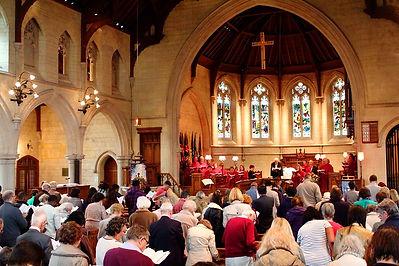 Worshipping at Trinity