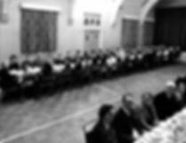 Stewardship Dinner 12 Nov 1963 in overflow in Trinity Hall