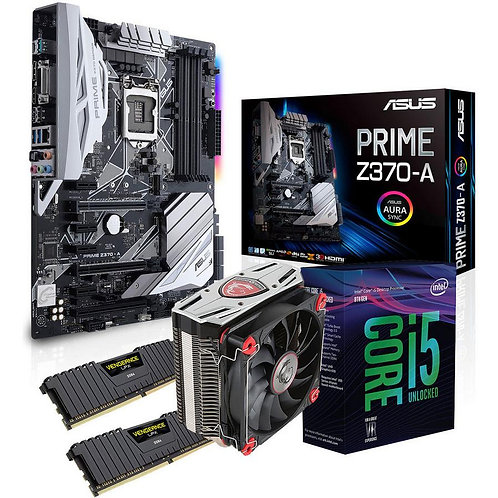 Pack carte mère 1200 + CPU I7 10700K x8 de 5,1Ghz + Radiateur + 32Go 3200
