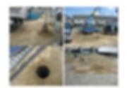 地盤改良 自然砕石のハイスピード工法を採用