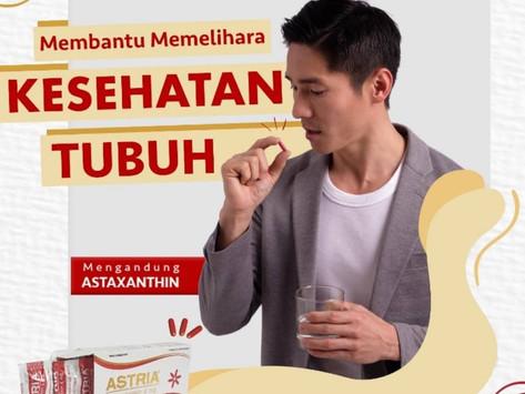 ASTRIA suplemen alami yang mengandung Astaxanthin