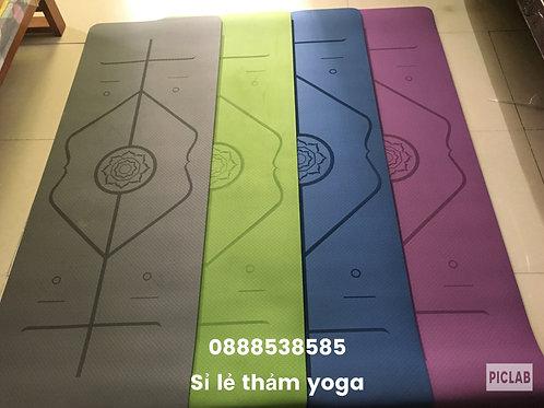 Thảm tập yoga định tuyến TPE