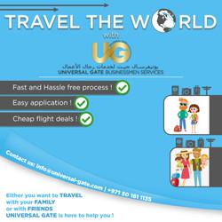 Travel the World with UG