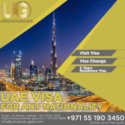 UAE VISA FOR ANY NATIONALITY