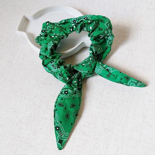Scrunchie Bandana Verde