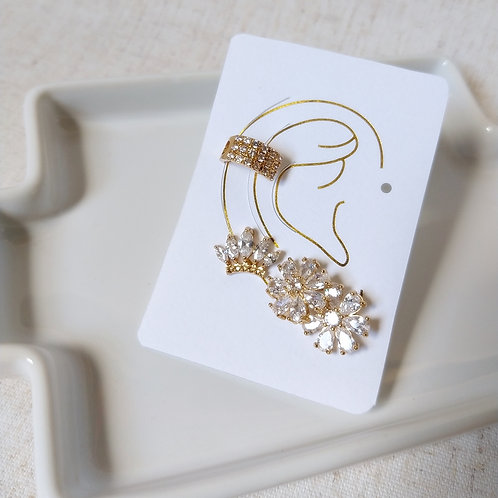 Kit Ear Cuff Coroa