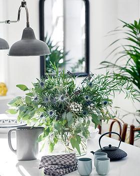 Styliste Table et plantes