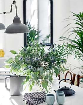 Stylist Table and Plants