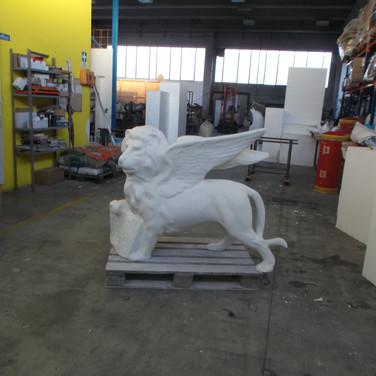 scultura leone s. marco venezia