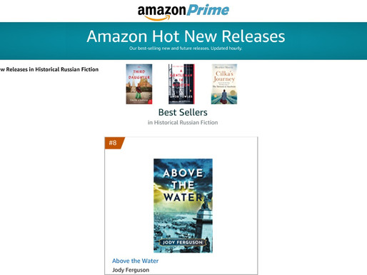 Above the Water on Amazon's Hot New Releases List
