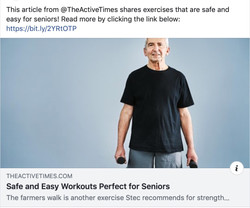 Workouts For Seniors