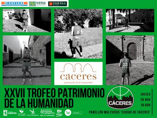 T20/21 - LEB Oro - La edición XXVII del Trofeo Cáceres Patrimonio de la Humanidad llega este jueves