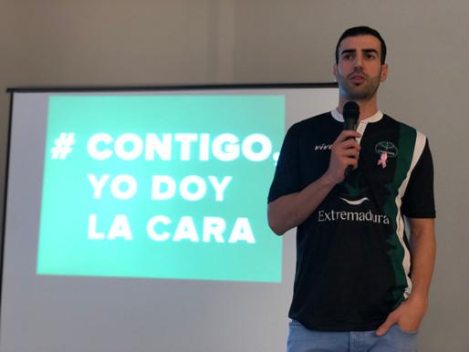 T18/19 - LEB Oro - Luis Parejo revive su experiencia como voluntario con la AECC