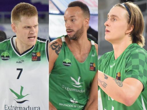T20/21 - LEB Oro - Tres verdinegros preparados para unirse a su selección en la próxima ventana FIBA