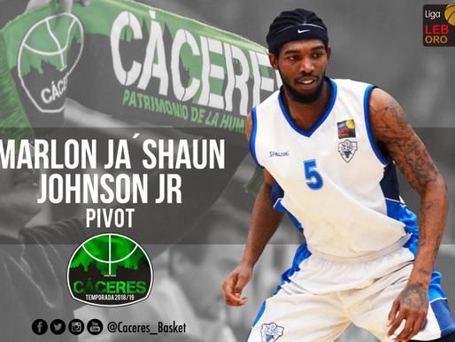 T18/19 - Se incorpora Marlon Johnson