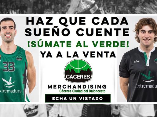T18/19 - LEB Oro - El Cáceres pone a la venta las camisetas oficiales de la temporada 2018/19