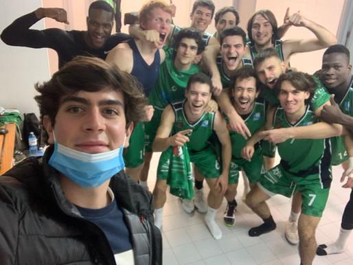 T20/21 - Crónica J7 Liga EBA - El Torta del Casar Extremadura consigue su segunda victoria liguera