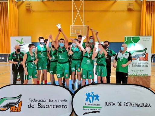 T20/21 - Cantera - Fin de semana de éxitos para los equipos del San Antonio Cáceres Basket