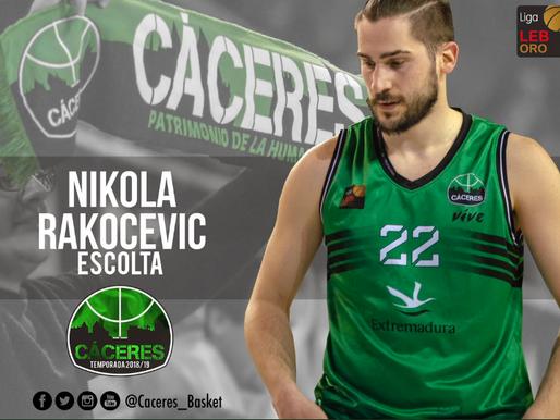 """T18/19 - Con Nikola Rakocevic, el Cáceres ya tiene a """"los de casa"""""""