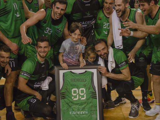 T21/22 - Sergio Pérez pone fin a su etapa en el Cáceres Ciudad del Baloncesto tras seis temporadas