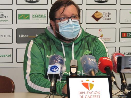 T20/21 - Previa J5 LEB Oro - Partido importante para el Cáceres contra el Valladolid de Hugo López