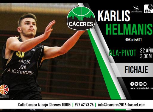 T20/21 - Liga EBA - El Torta del Casar Extremadura se hace con los servicios de Karlis Helmanis